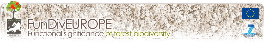 FunDivEUROPE - Functional Significance of forest biodiversity in Europe